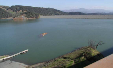 San francisco district missions projects and programs for Lake sonoma fishing report